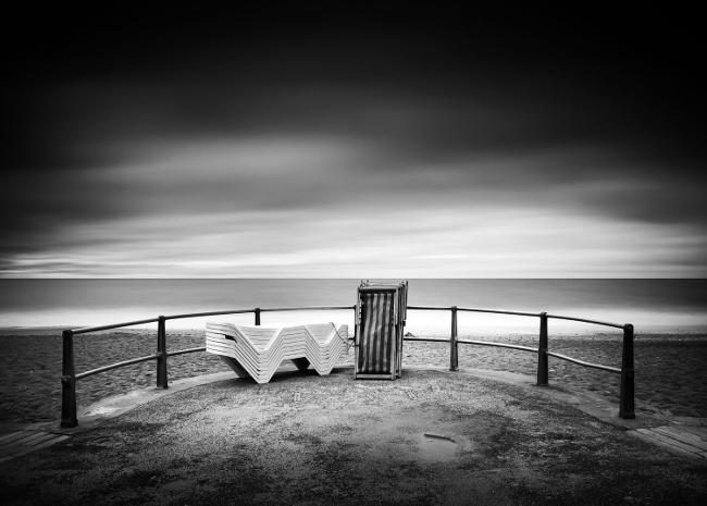Michael Kenna, paesaggio in bianco e nero.
