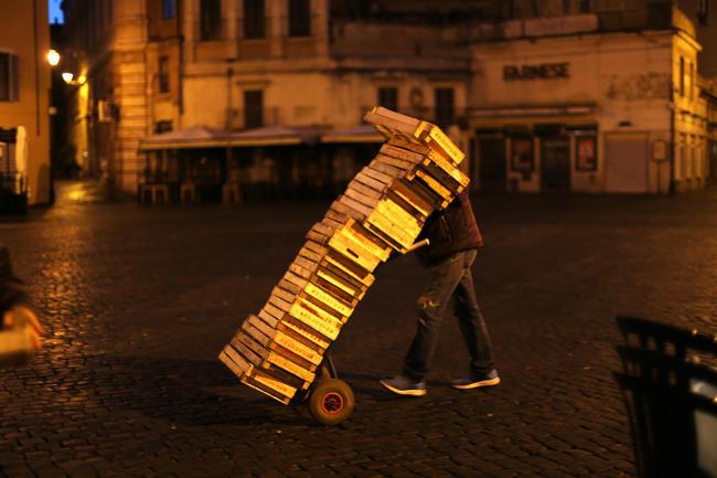 Una foto a Roma di Mohamed Keita.