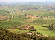 diffrazione e nitidezza delle foto, paesaggio in Sicilia.