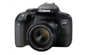 Reflex digitale Canon 800D.