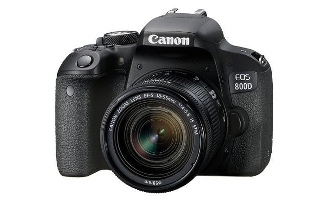 Canon 800D.