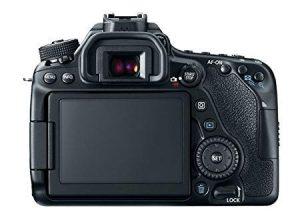 Display touch screen da 3 pollici della Canon 80D.