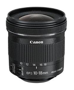 Grandangolare Canon 10-18mm EF-s.