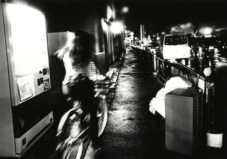Fotografia di Daido Moriyama, fotografo giapponese.