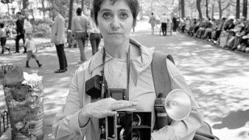 Foto di Diane Arbus, fotografa americana.