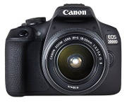 Fotocamera reflex Canon 2000d.
