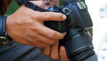 Fotocamera reflex digitale per principianti.