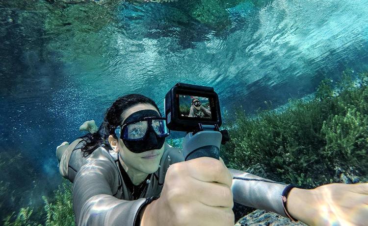 fotografia subacquea con la gopro.