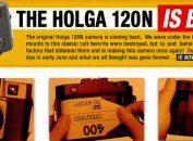 Holga 120N nuova produzione in vendita.