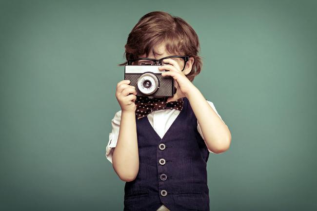 Insegnare la fotografia ai bambini.