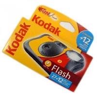 Macchina fotografica Kodak usa e getta a pellicola.