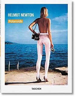 Libro fotografico sulle Polaroid di Helmut Newton.