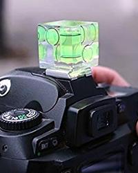 Livella a bolla per fotocamera reflex.