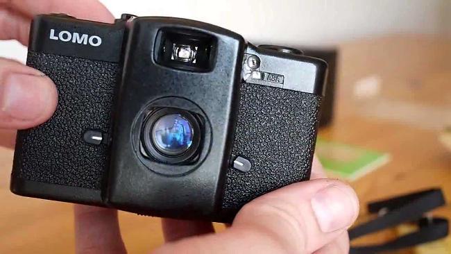 Lomografia, la fotocamera Lomo LC-A.