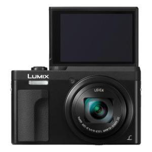 Lo schermo ribaltabile della TZ90 Lumix.