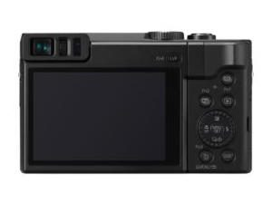 Vista dal display delle Panasonic Lumix TZ90, fotocamera.