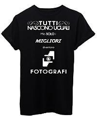 Maglietta migliore fotografo da regalare.
