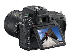 La bellissima ed affidabile Nikon D750, fotocamera reflex fullframe .