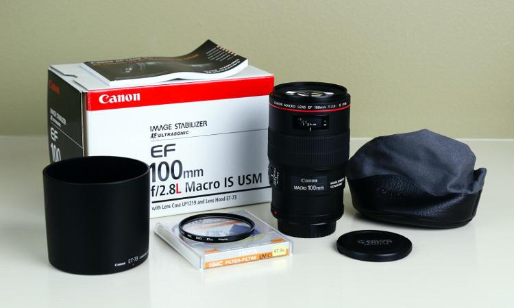 Coprare un obiettivo Canon usato.