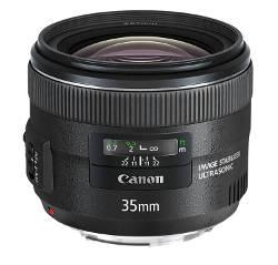 Obiettivo 35mm Canon f/2.