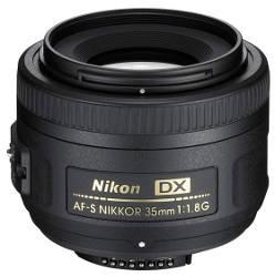 Obiettivo Nikkor AF-S DX 35 mm f/1.8G per Nikon.