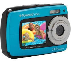 Fotocamera compatta Polaroid subacquea.