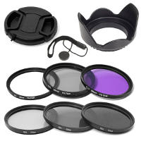 Set di filtri per fotocamera Canon 58mm.