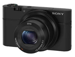 Fotocamera compatta Sony RX100.