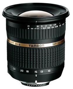 Obiettivo grandangolo Tamron SP 10-24.