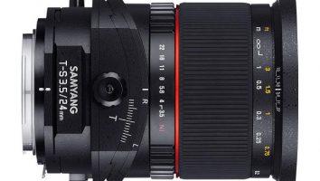 Tipi di obiettivo per fotocamere, un particolare tilt-shift.