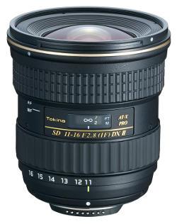 Obiettivo grandangolare Tokina 11-16mm.