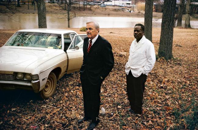 Una celebre foto del fotografo Eggleston.